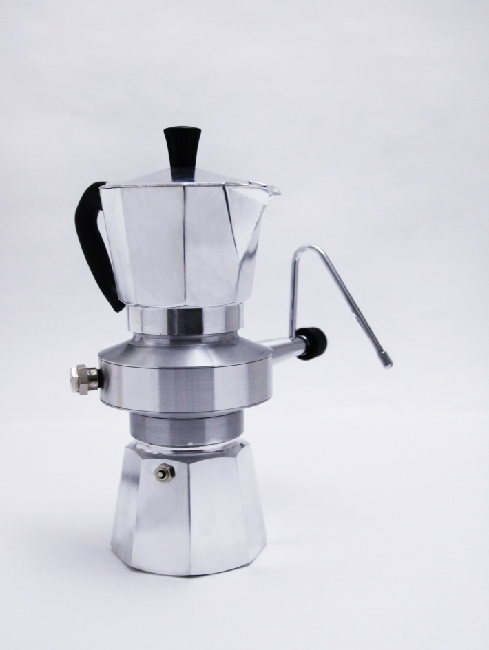 Steam Press Coffee Maker : MILK BROTHER / MOKA MILK FROTHER PoChih Lai